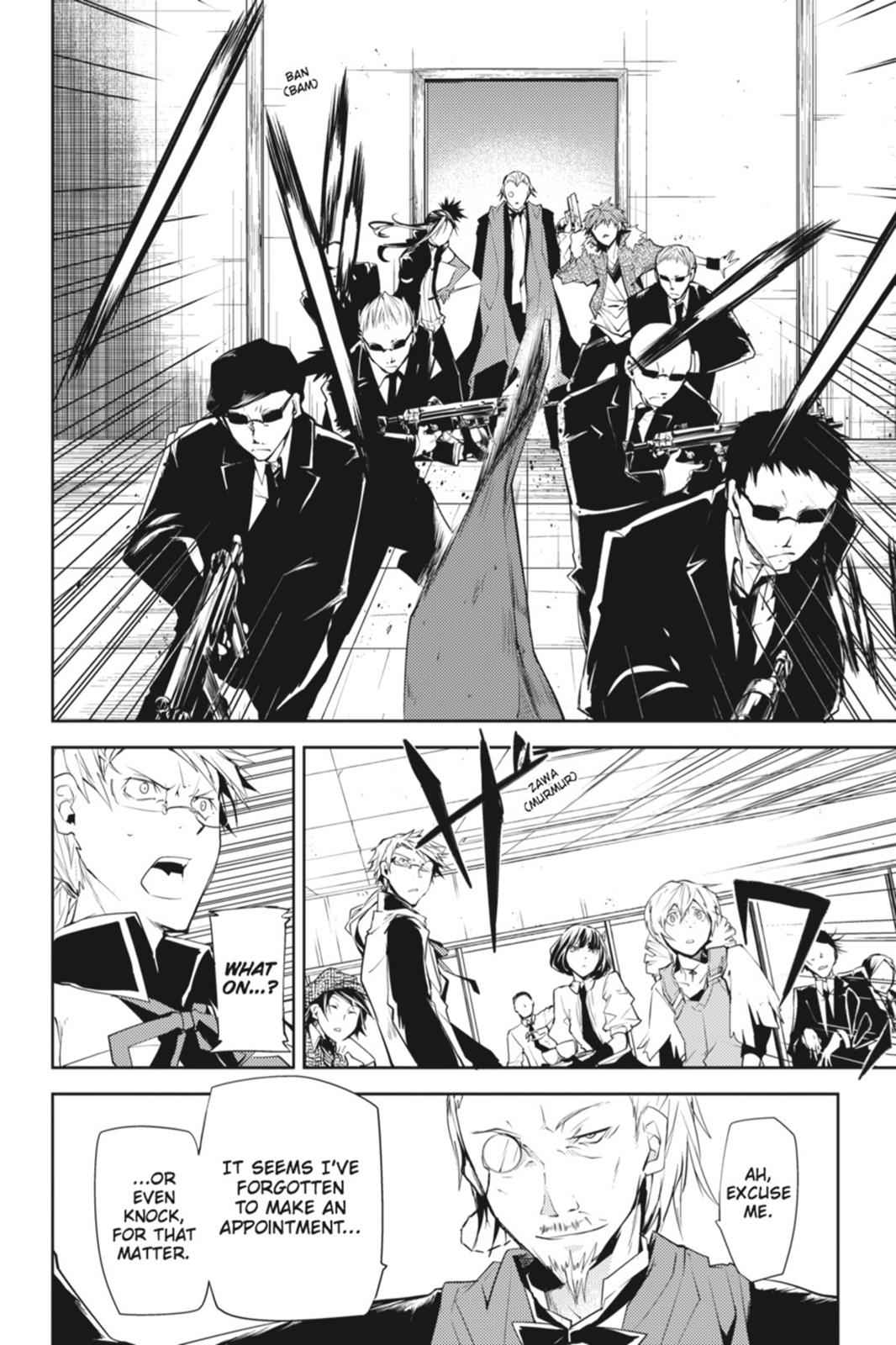 Bungou Stray Dogs Chapter 5 Page 36