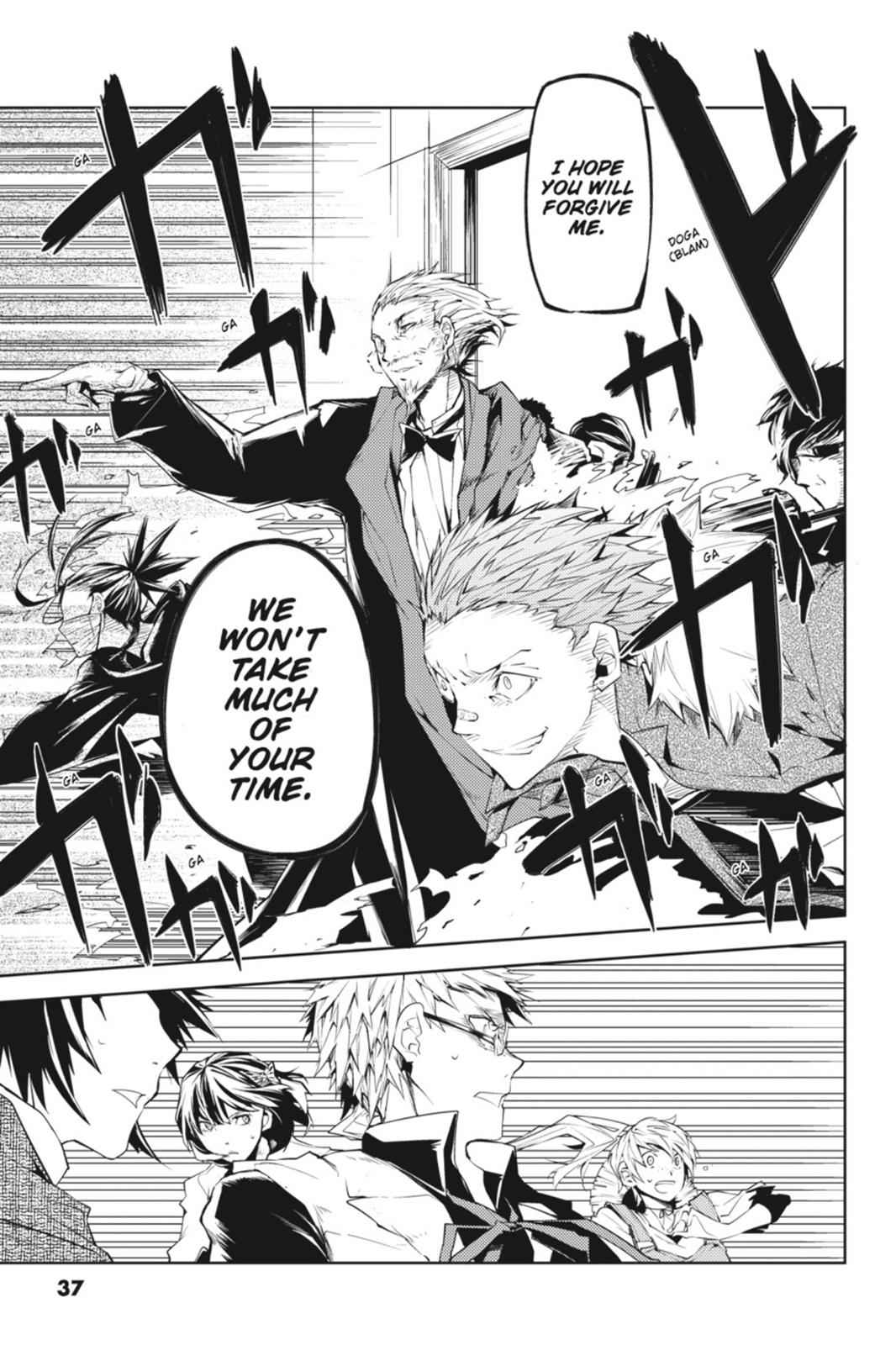 Bungou Stray Dogs Chapter 5 Page 37