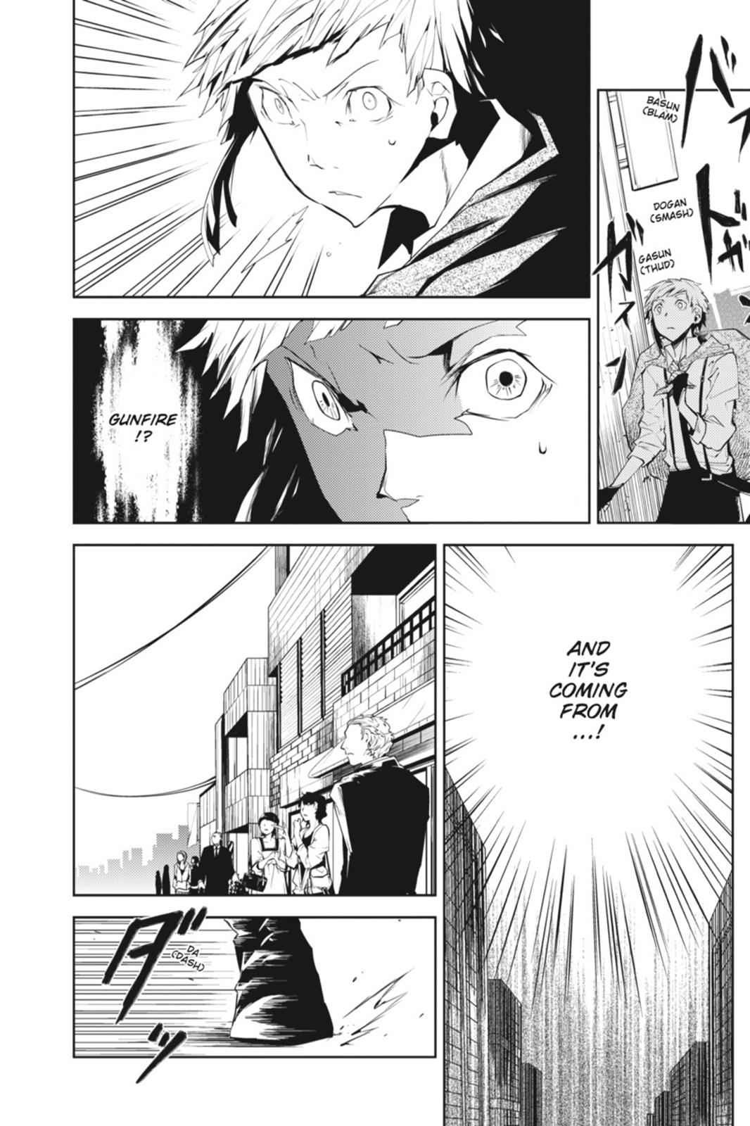 Bungou Stray Dogs Chapter 5 Page 38