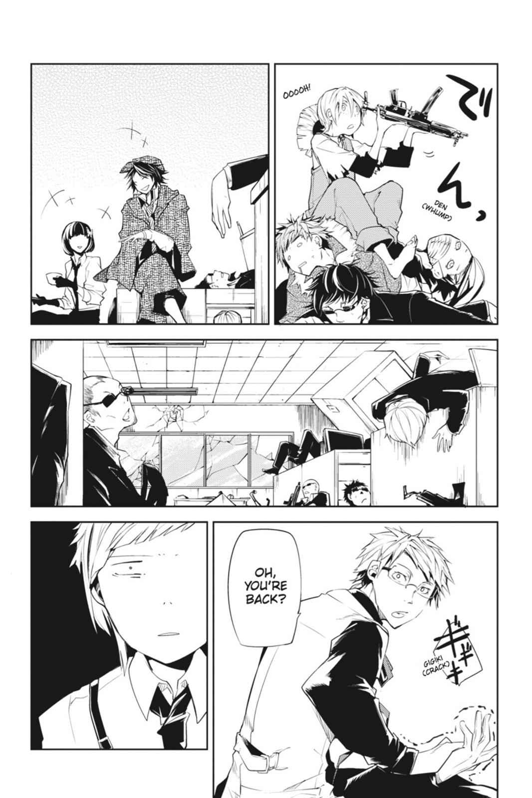 Bungou Stray Dogs Chapter 5 Page 41