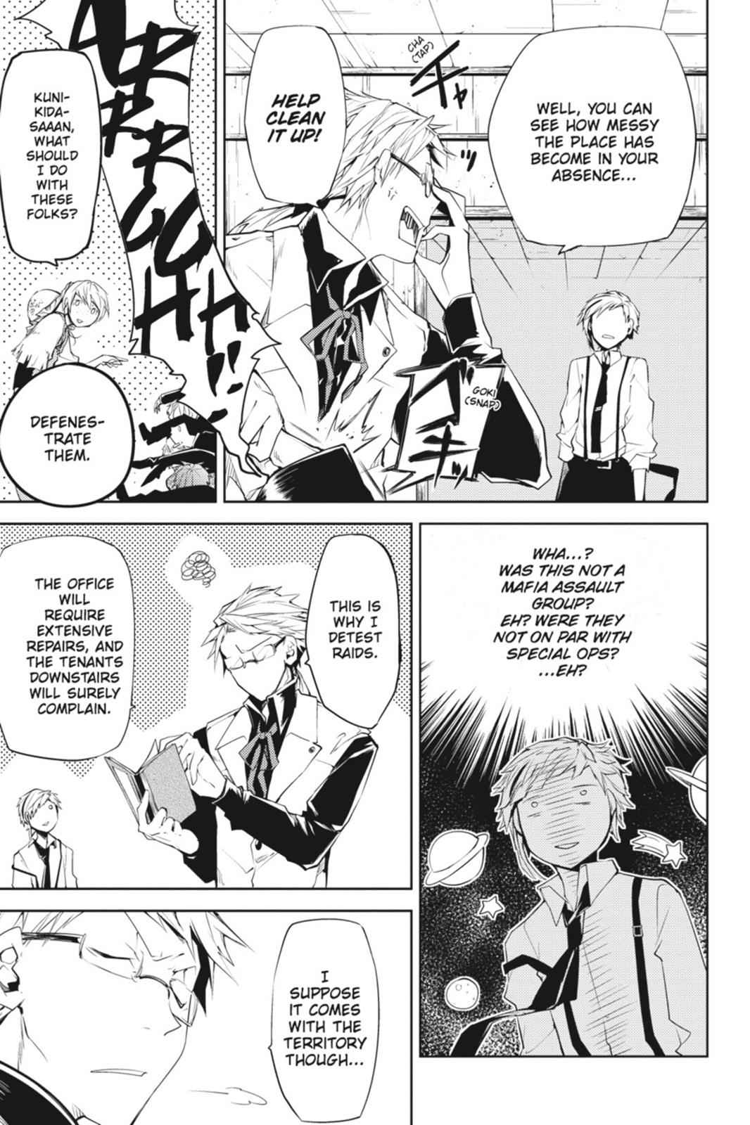 Bungou Stray Dogs Chapter 5 Page 42
