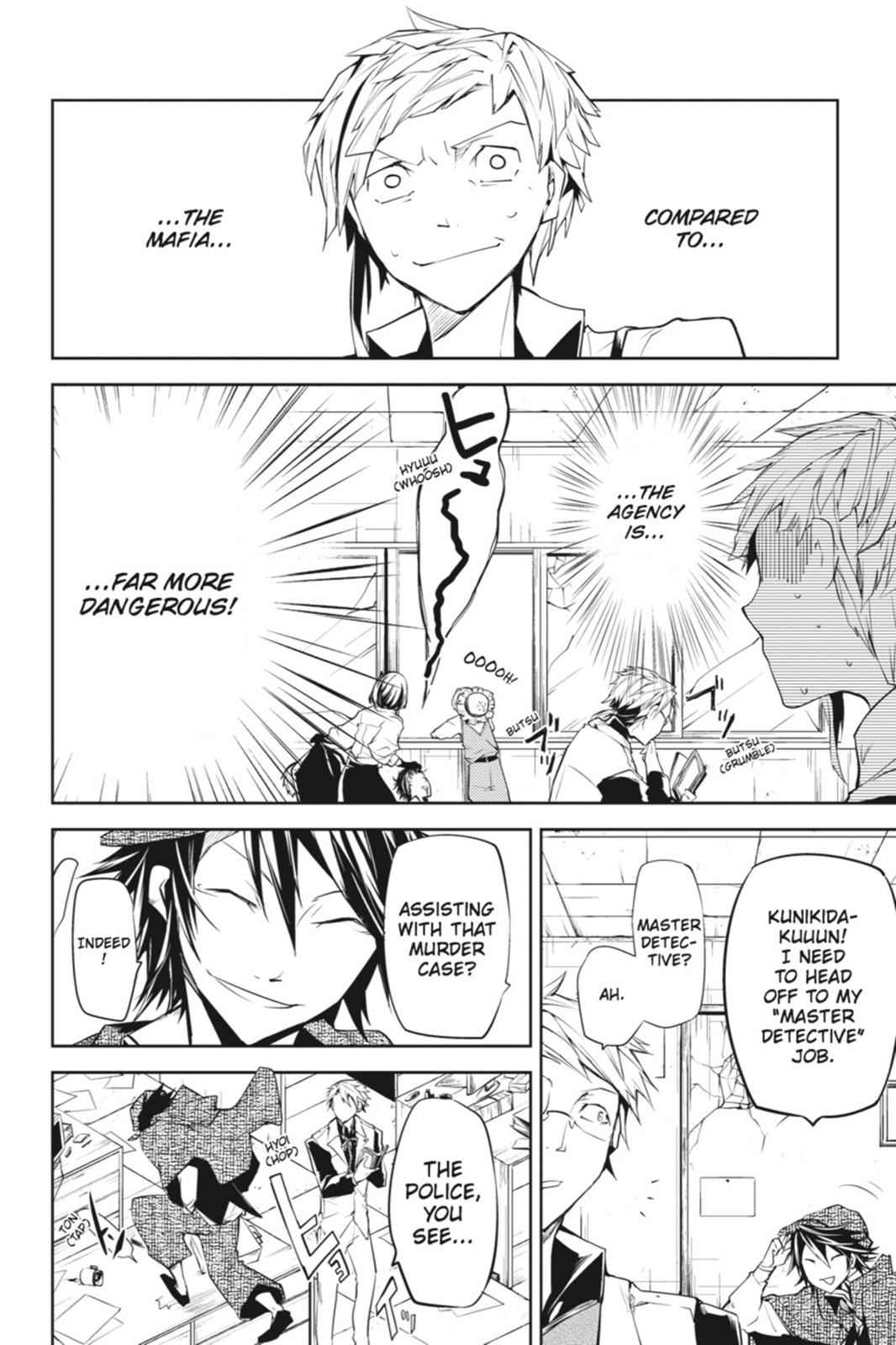Bungou Stray Dogs Chapter 5 Page 43