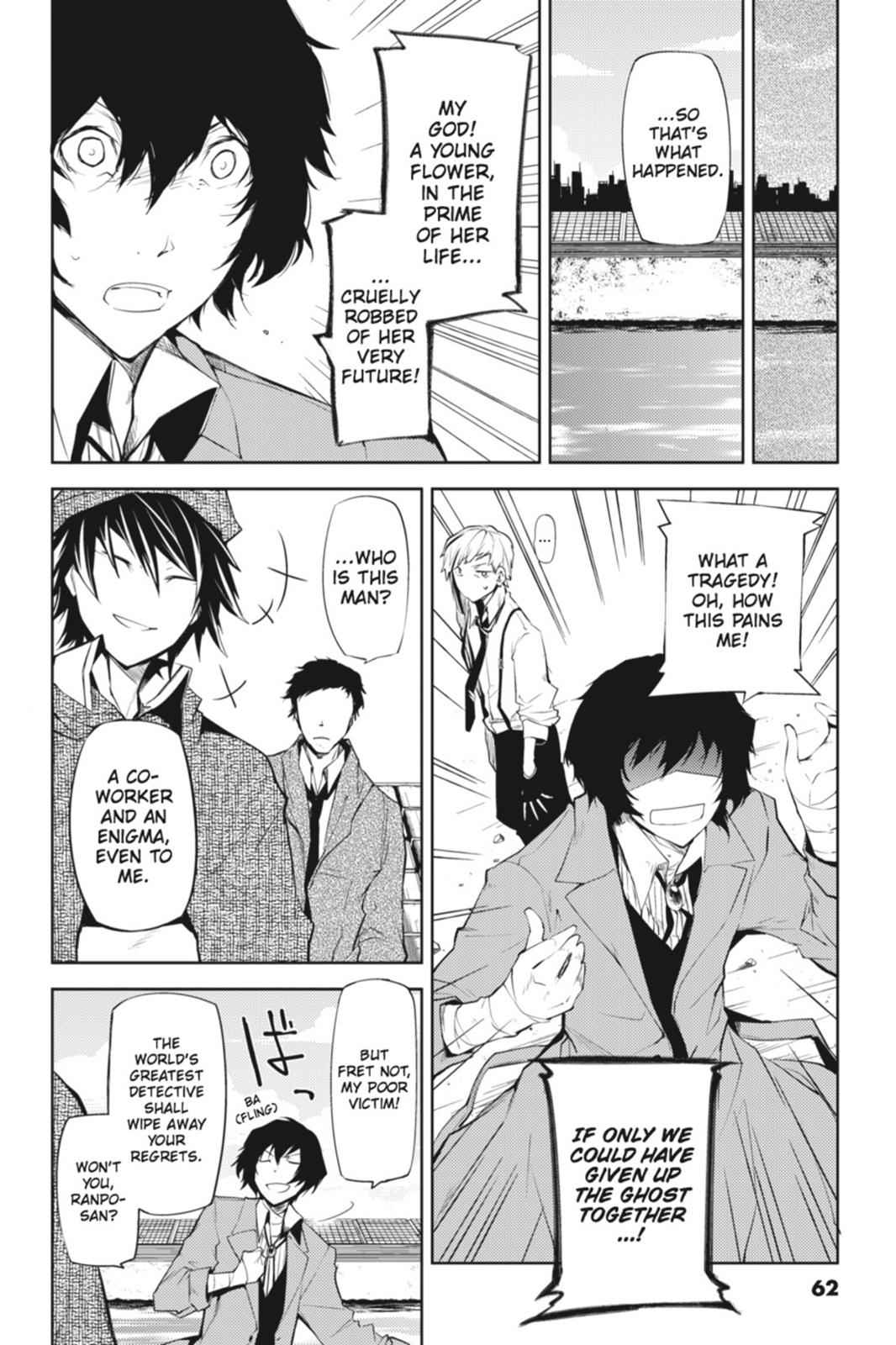 Bungou Stray Dogs Chapter 6 Page 14
