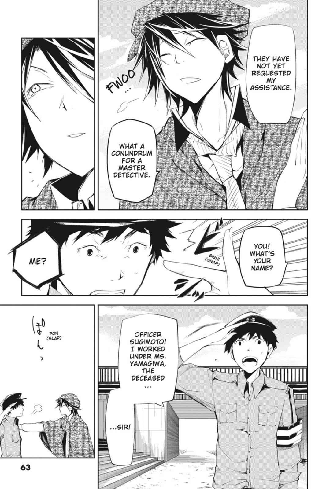 Bungou Stray Dogs Chapter 6 Page 15