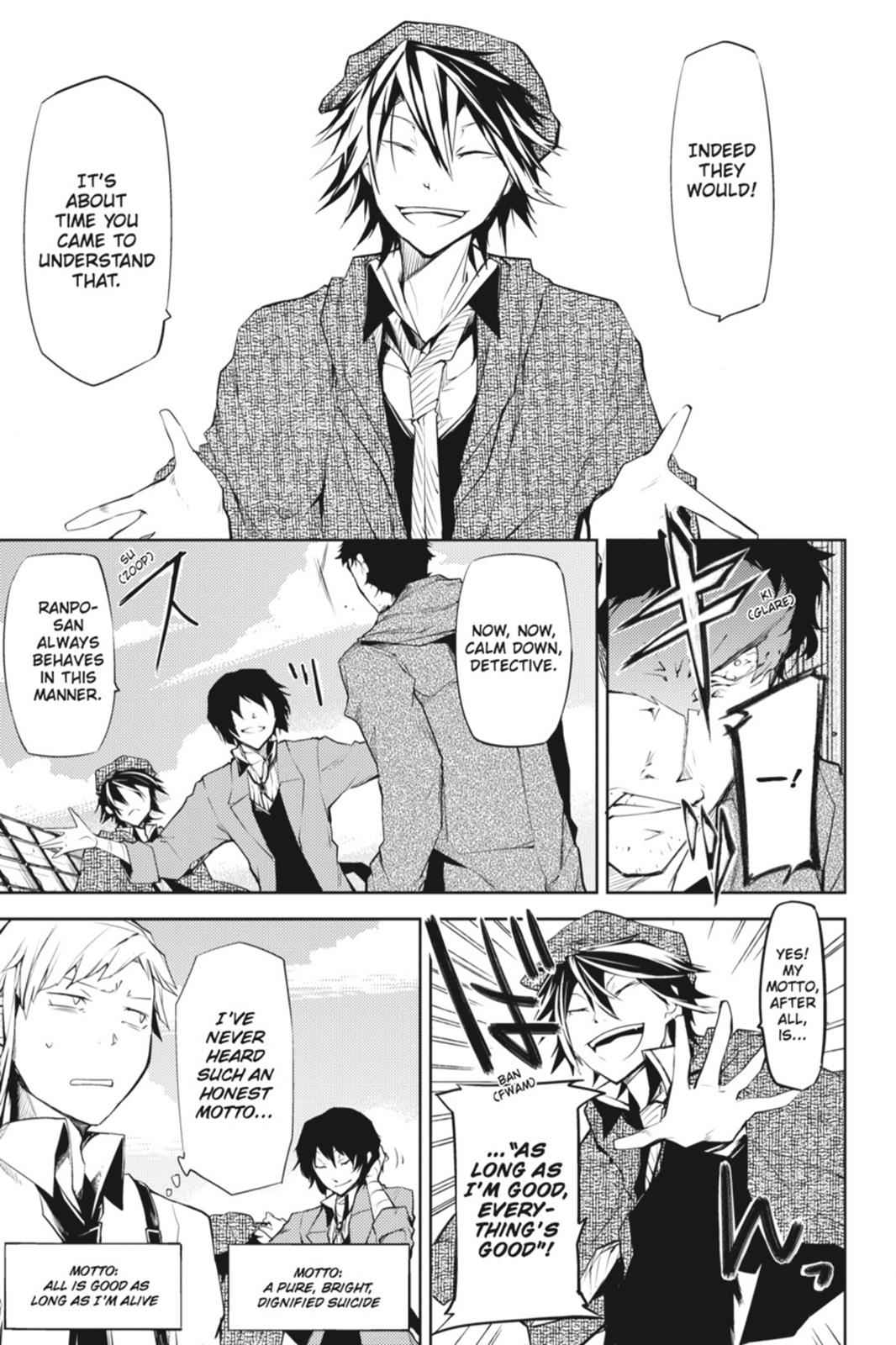 Bungou Stray Dogs Chapter 6 Page 21