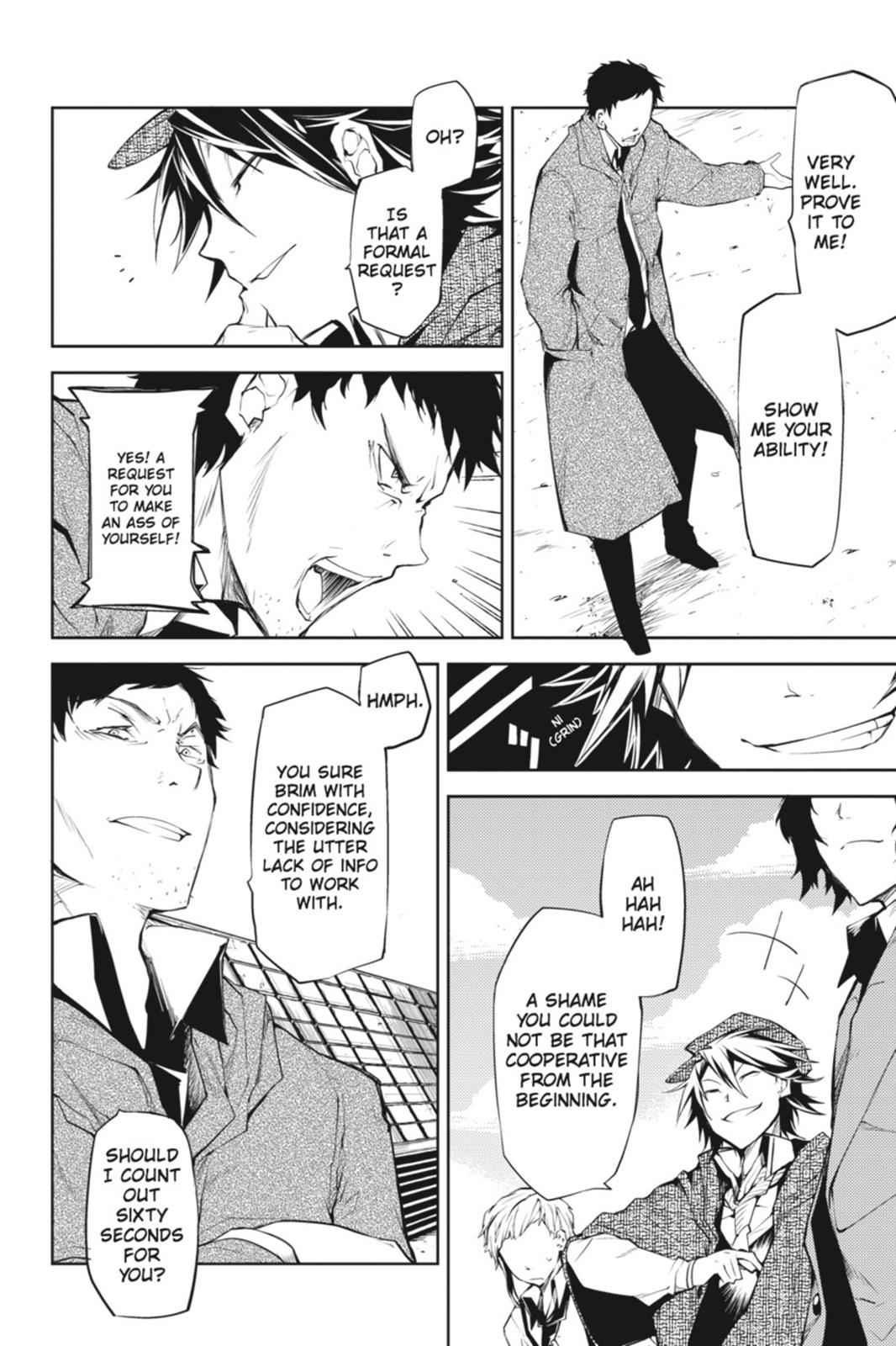 Bungou Stray Dogs Chapter 6 Page 22
