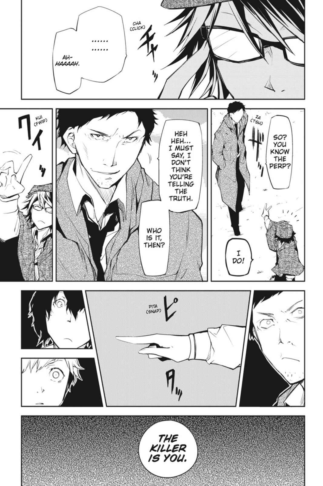 Bungou Stray Dogs Chapter 6 Page 25