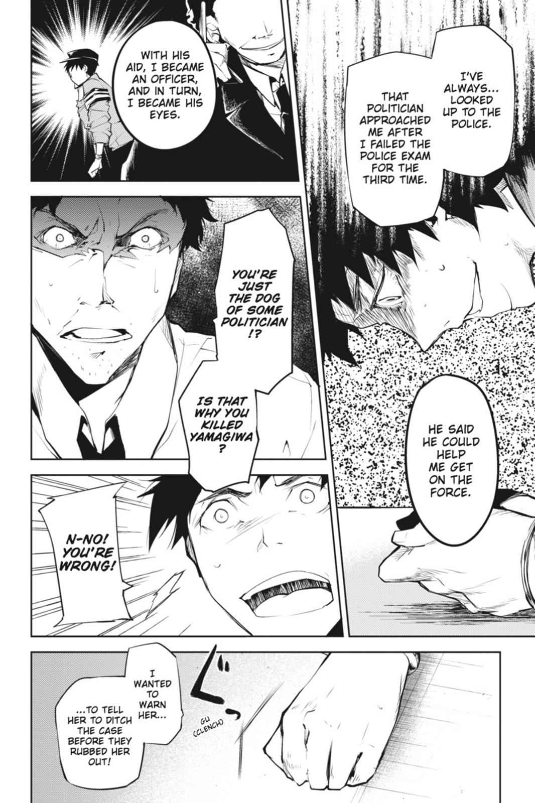 Bungou Stray Dogs Chapter 6 Page 36