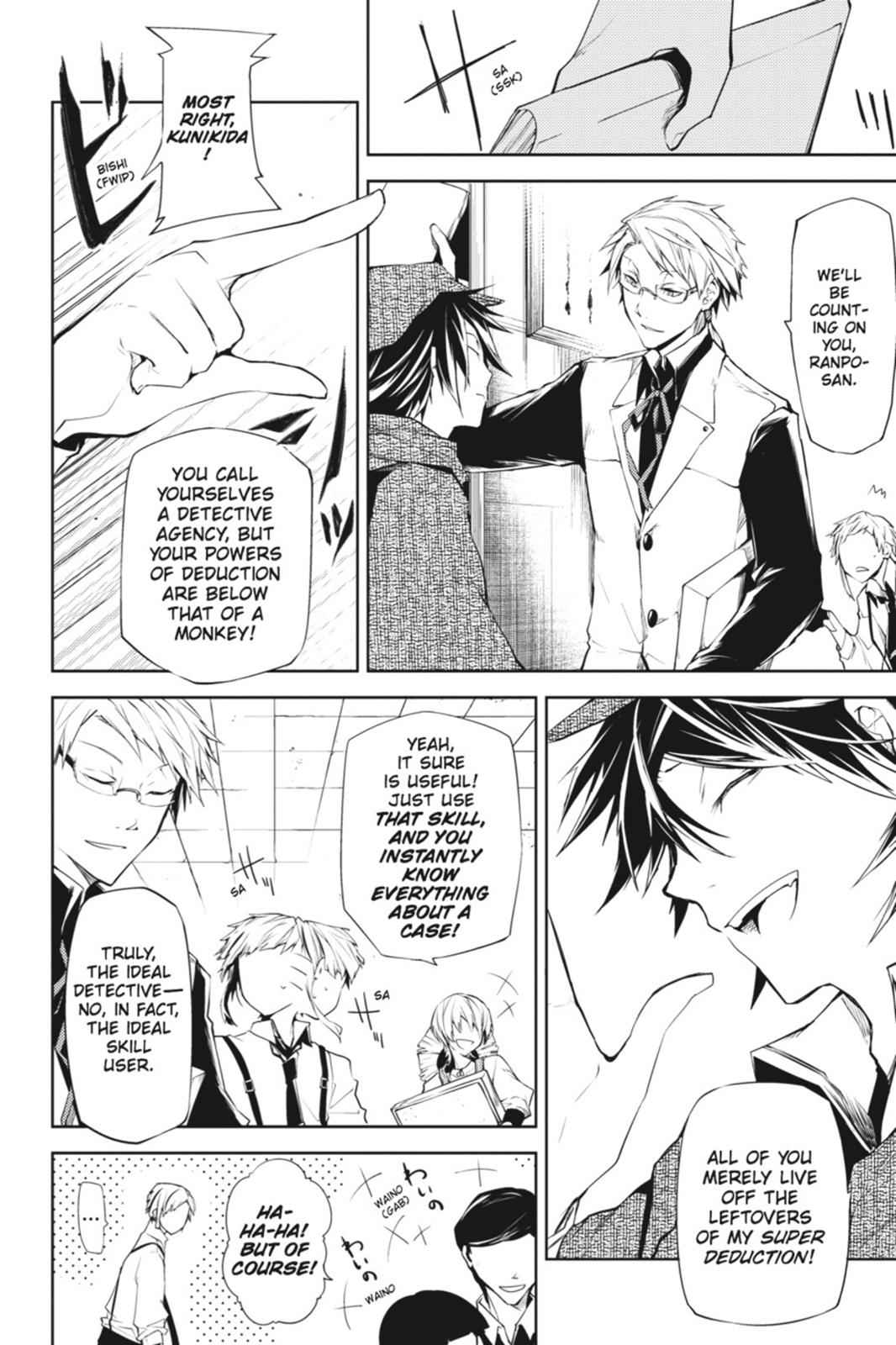 Bungou Stray Dogs Chapter 6 Page 4