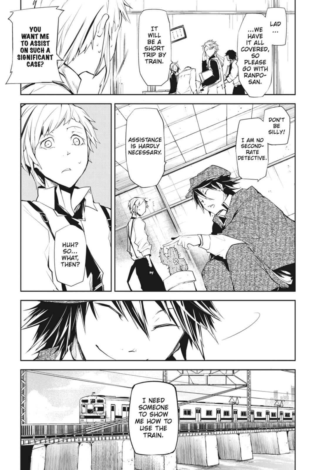 Bungou Stray Dogs Chapter 6 Page 5