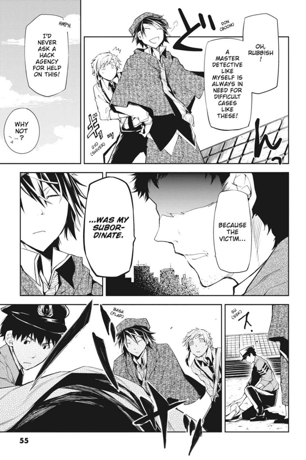 Bungou Stray Dogs Chapter 6 Page 7