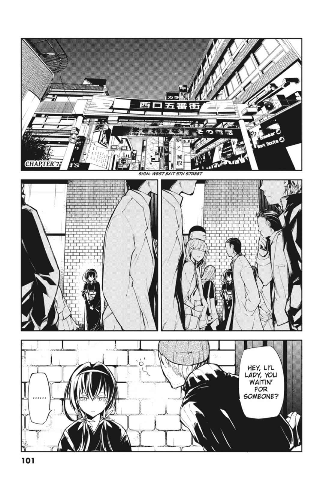 Bungou Stray Dogs Chapter 7 Page 1