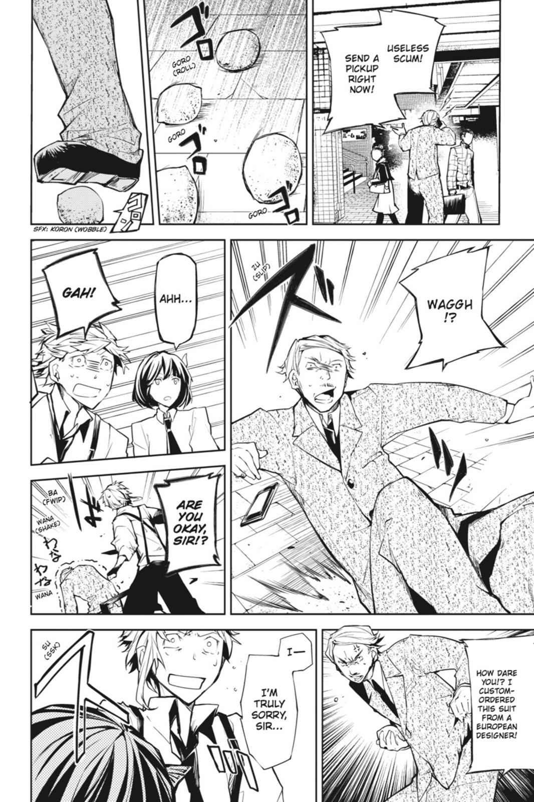 Bungou Stray Dogs Chapter 7 Page 14
