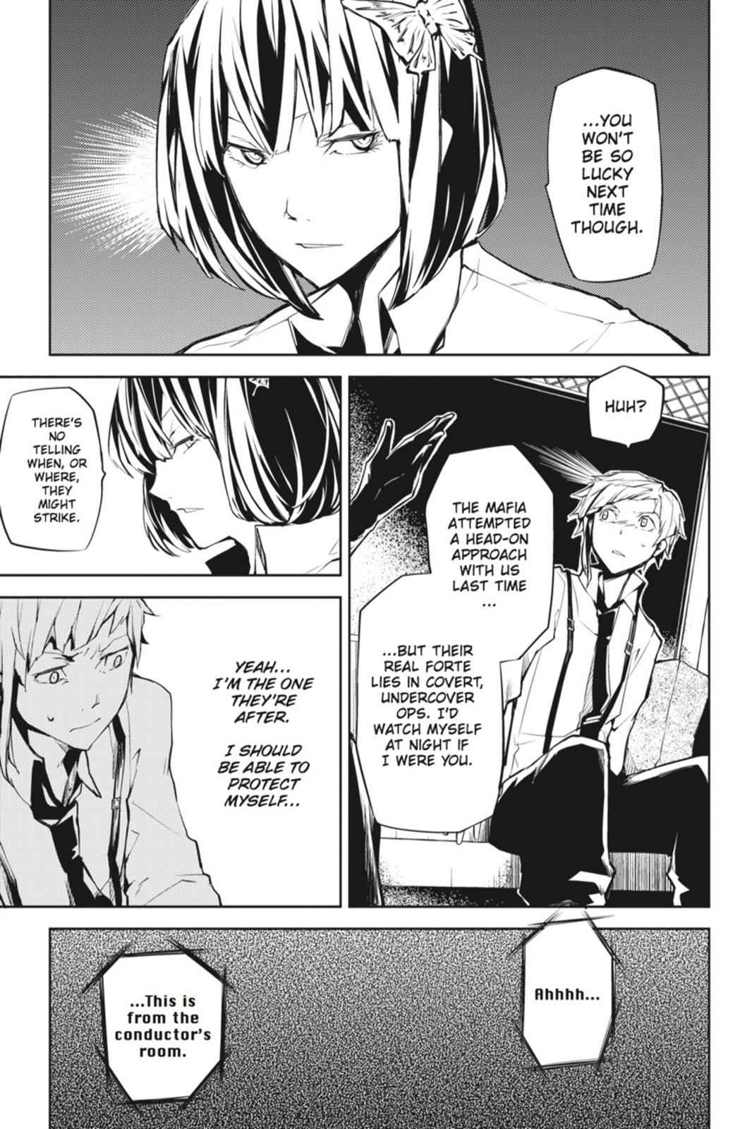 Bungou Stray Dogs Chapter 7 Page 19