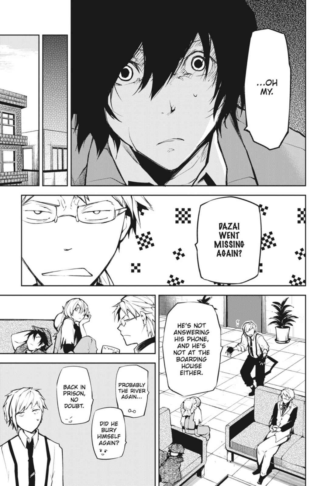 Bungou Stray Dogs Chapter 7 Page 5