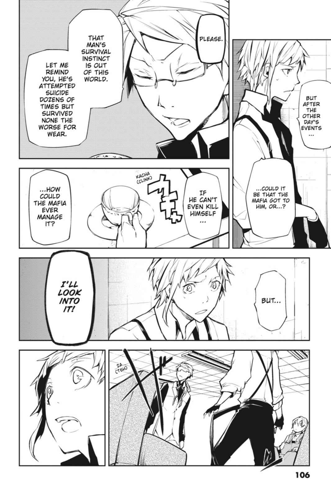 Bungou Stray Dogs Chapter 7 Page 6