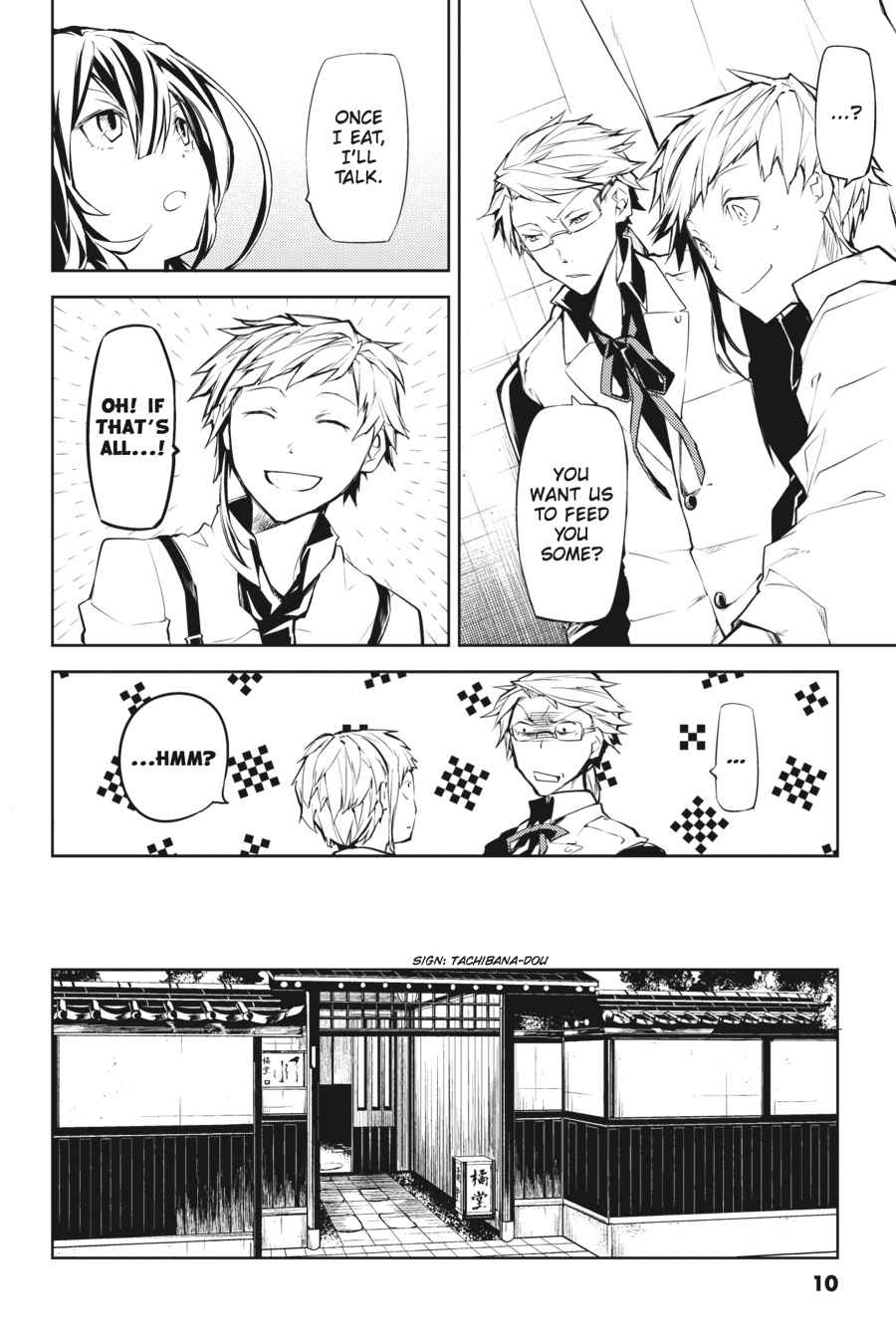 Bungou Stray Dogs Chapter 9 Page 10