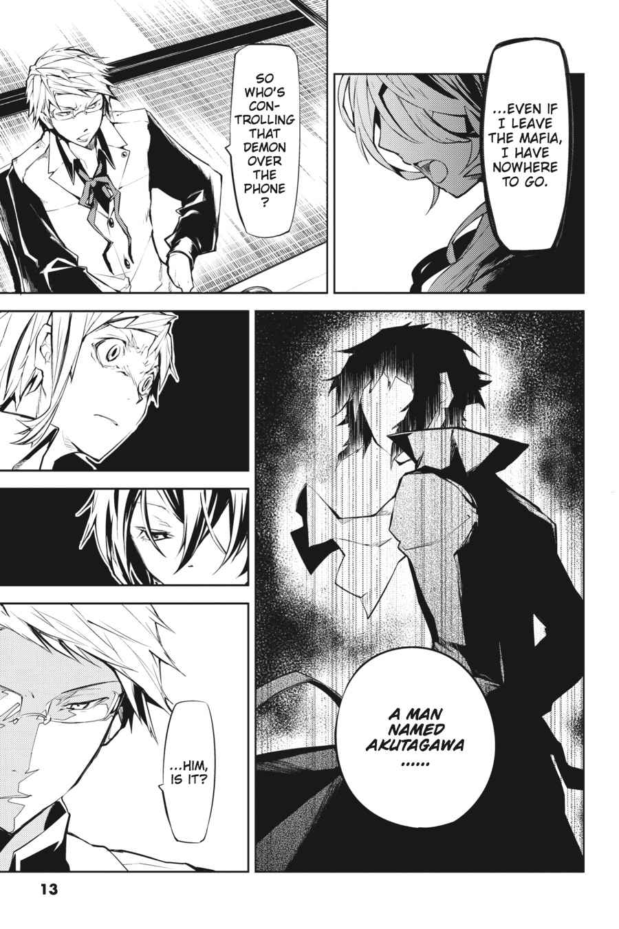Bungou Stray Dogs Chapter 9 Page 13