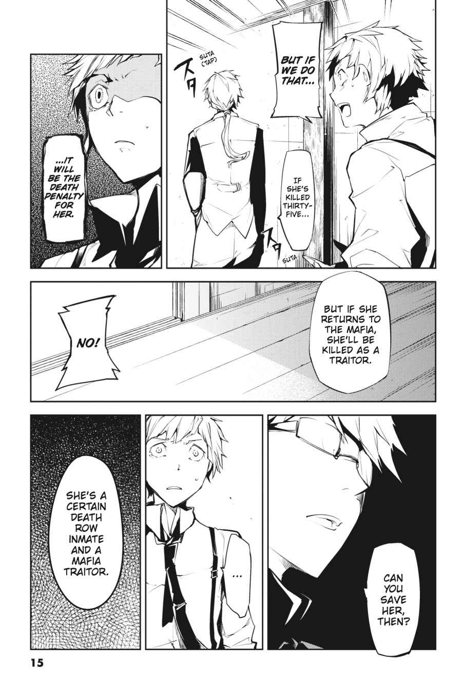 Bungou Stray Dogs Chapter 9 Page 15