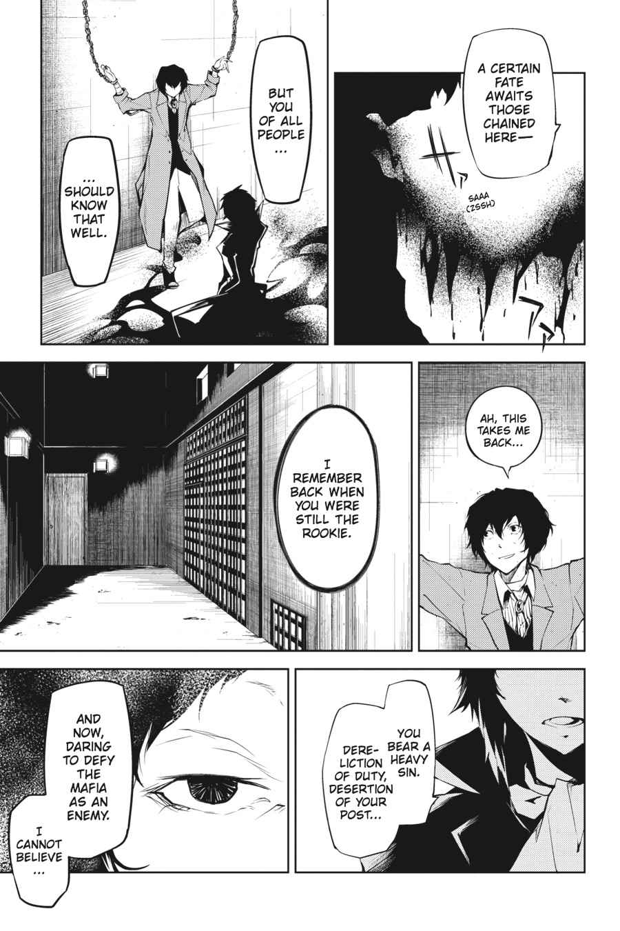 Bungou Stray Dogs Chapter 9 Page 21