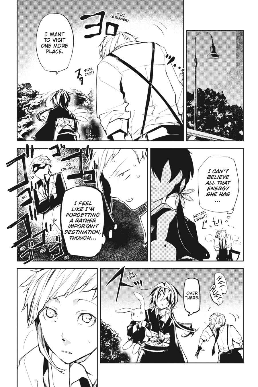 Bungou Stray Dogs Chapter 9 Page 33