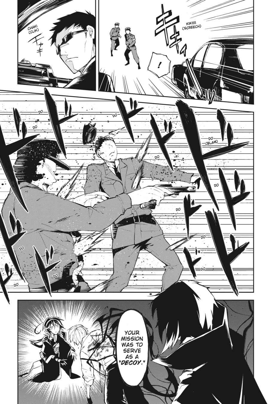 Bungou Stray Dogs Chapter 9 Page 38
