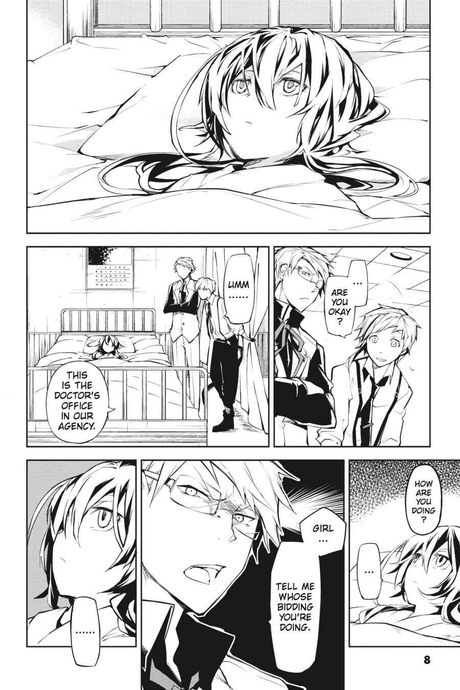 Bungou Stray Dogs Chapter 9 Page 8