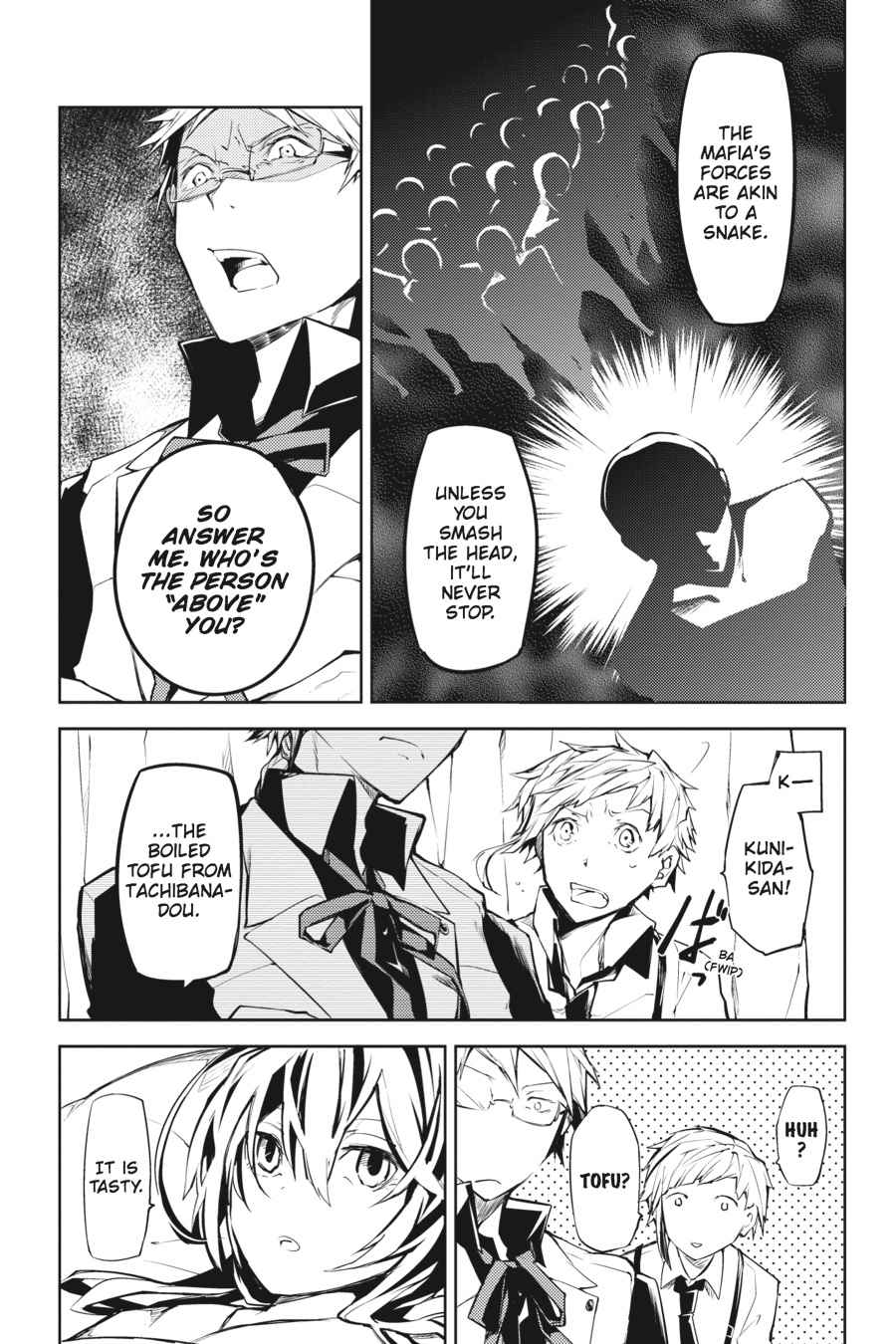 Bungou Stray Dogs Chapter 9 Page 9