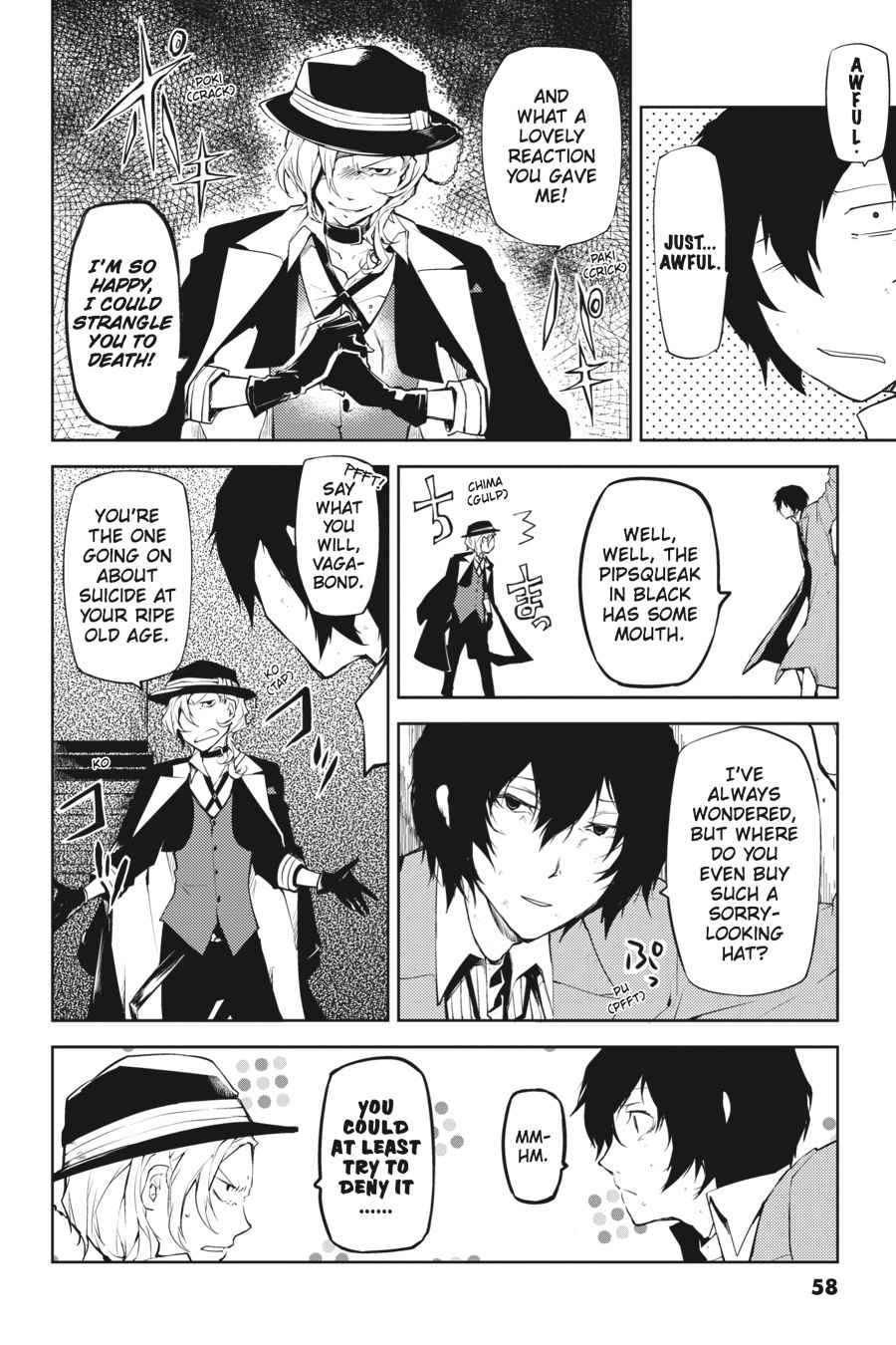 Bungou Stray Dogs Chapter 10 Page 14