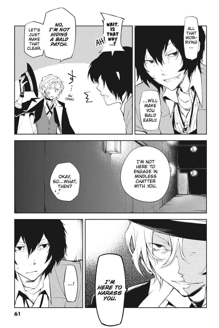 Bungou Stray Dogs Chapter 10 Page 17