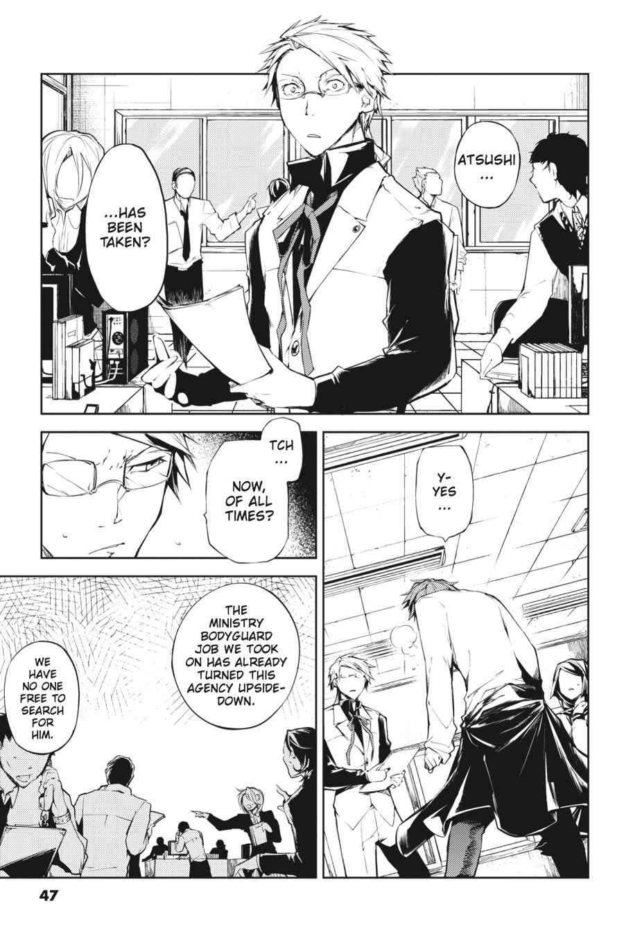 Bungou Stray Dogs Chapter 10 Page 3