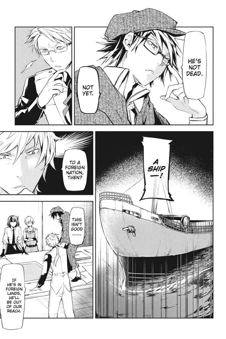 Bungou Stray Dogs Chapter 10 Page 35
