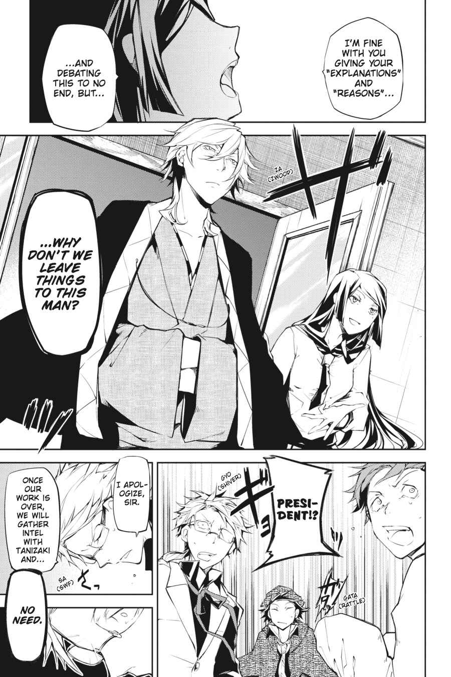 Bungou Stray Dogs Chapter 10 Page 7