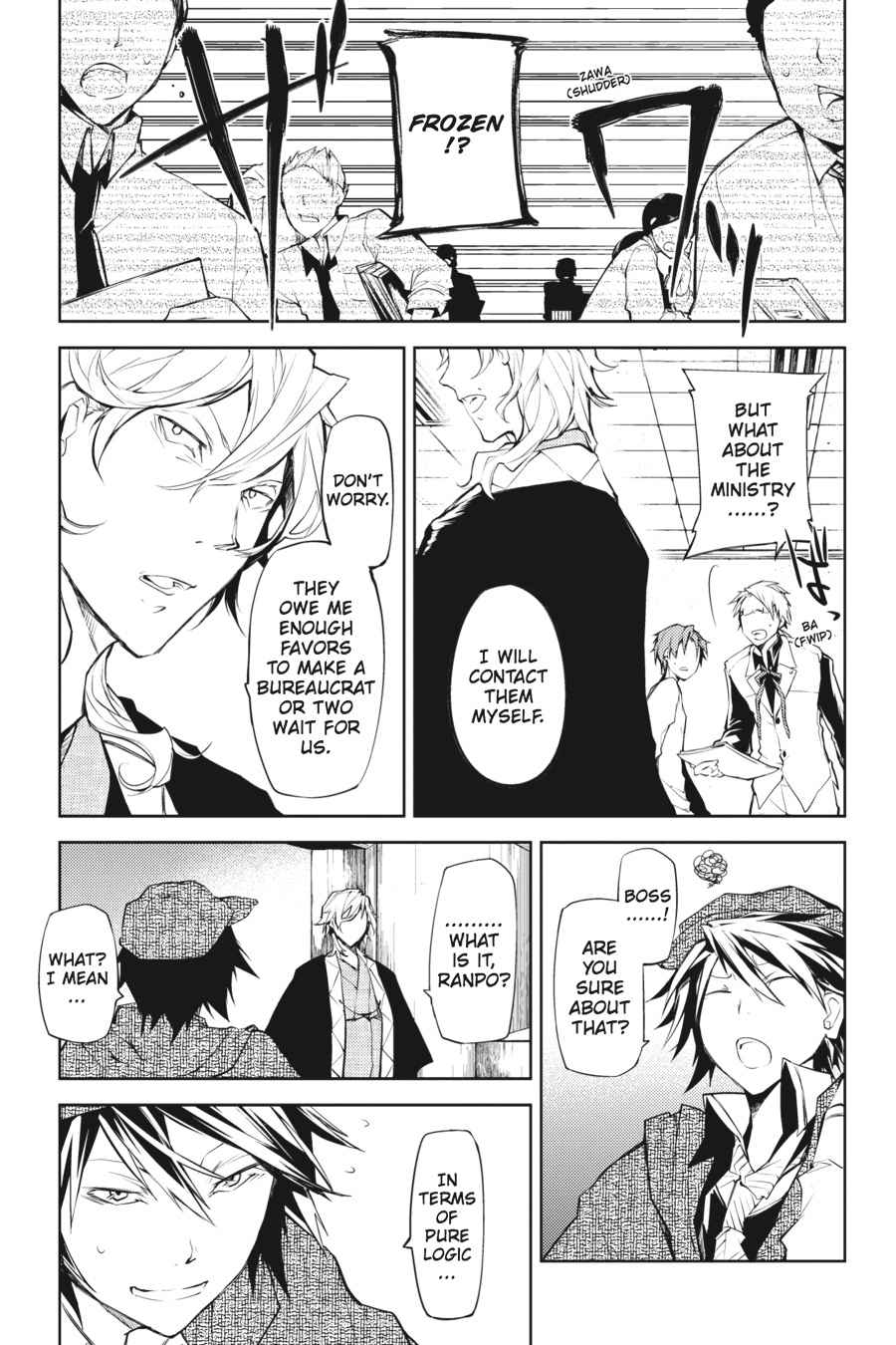 Bungou Stray Dogs Chapter 10 Page 9