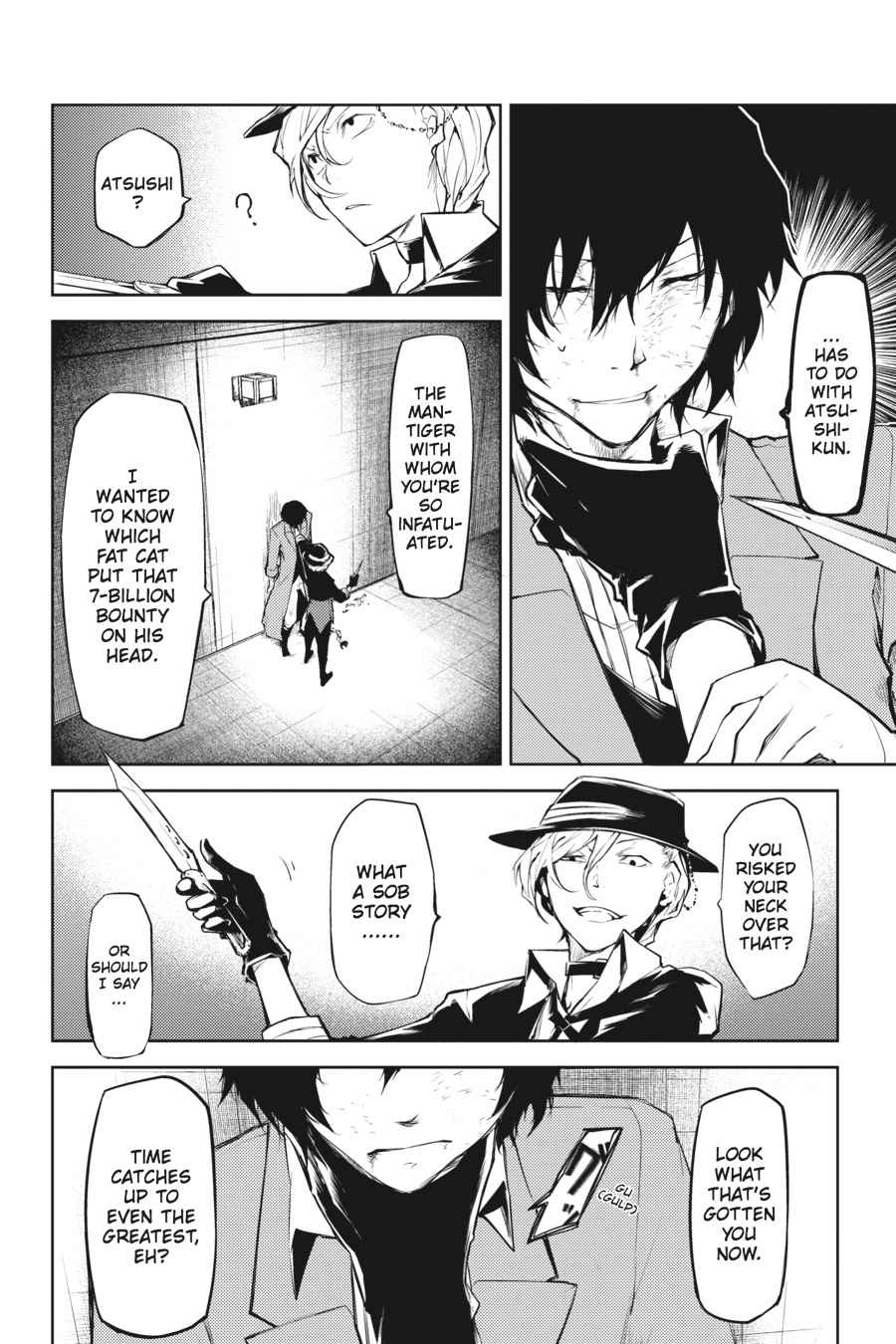 Bungou Stray Dogs Chapter 11 Page 10