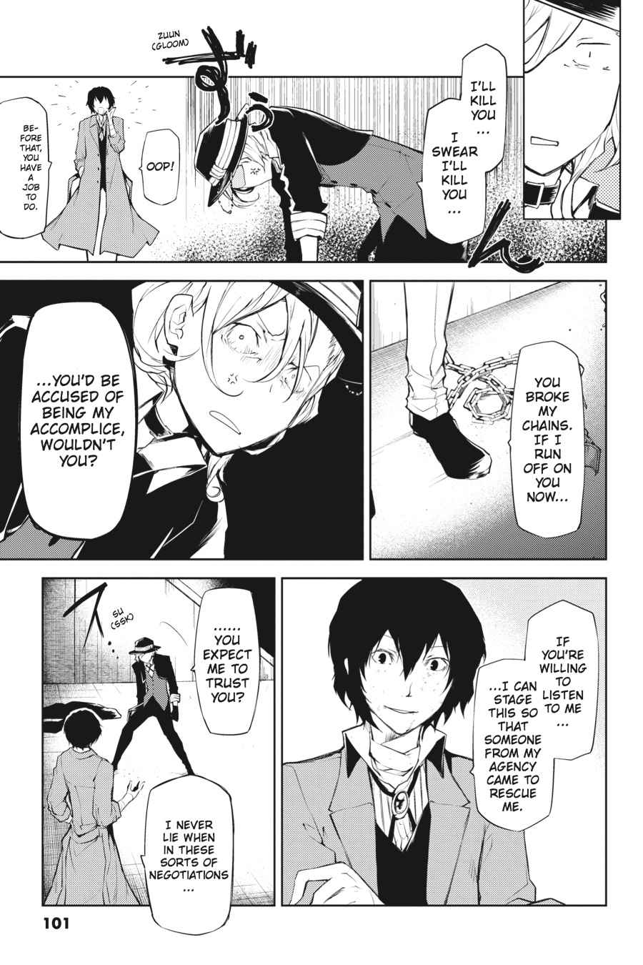 Bungou Stray Dogs Chapter 11 Page 19