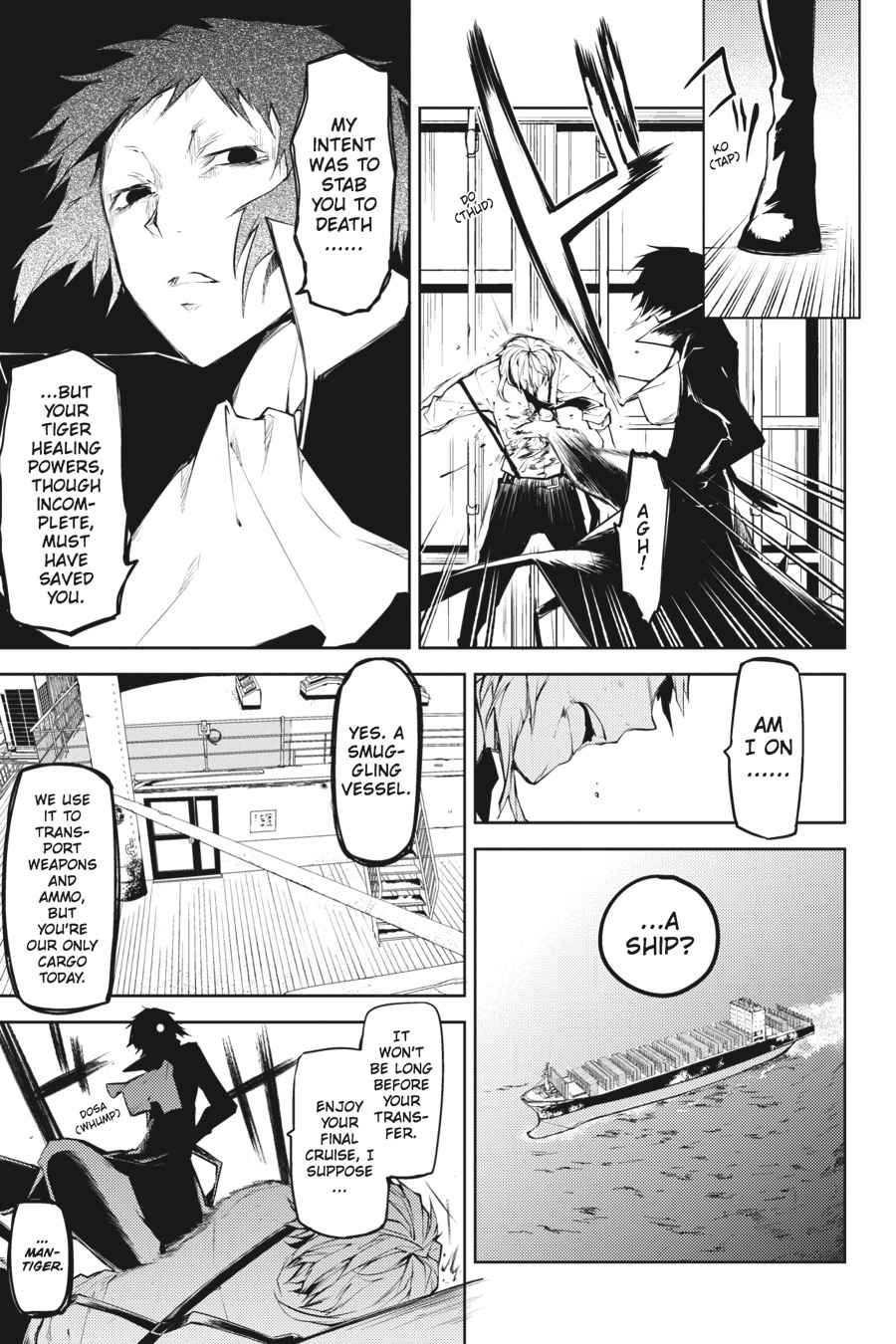 Bungou Stray Dogs Chapter 11 Page 27