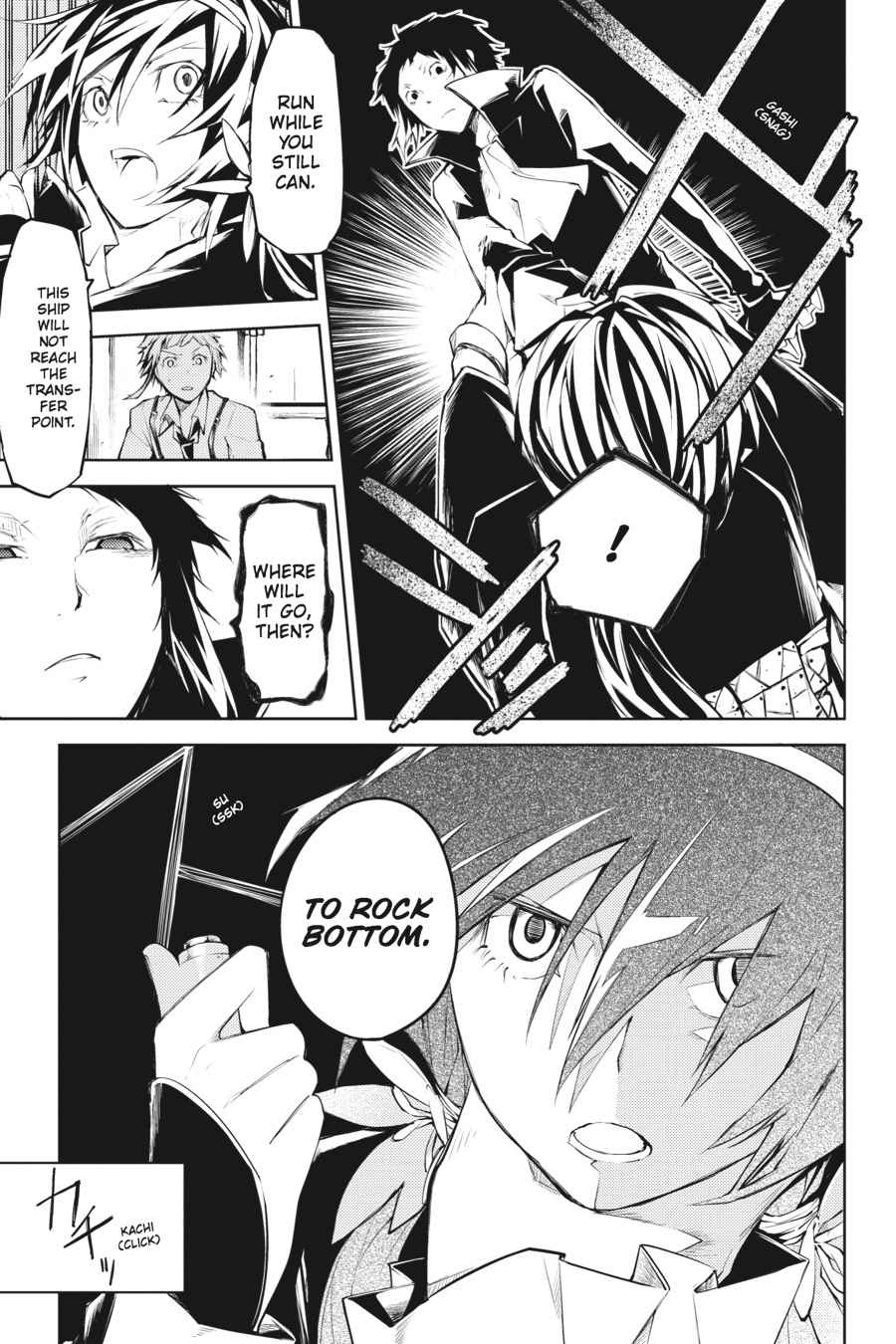 Bungou Stray Dogs Chapter 11 Page 37