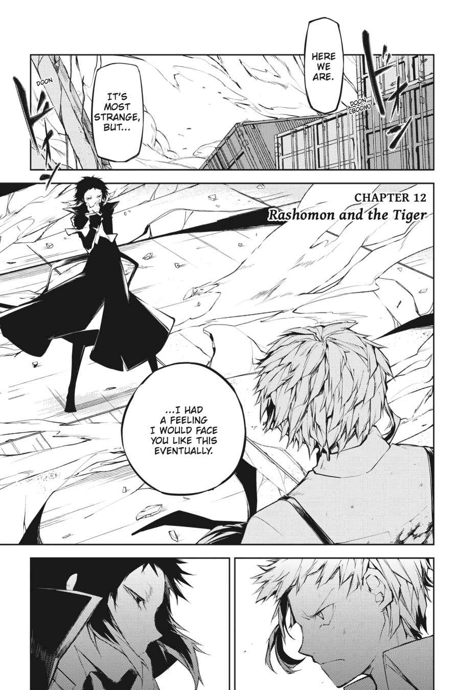Bungou Stray Dogs Chapter 12 Page 1