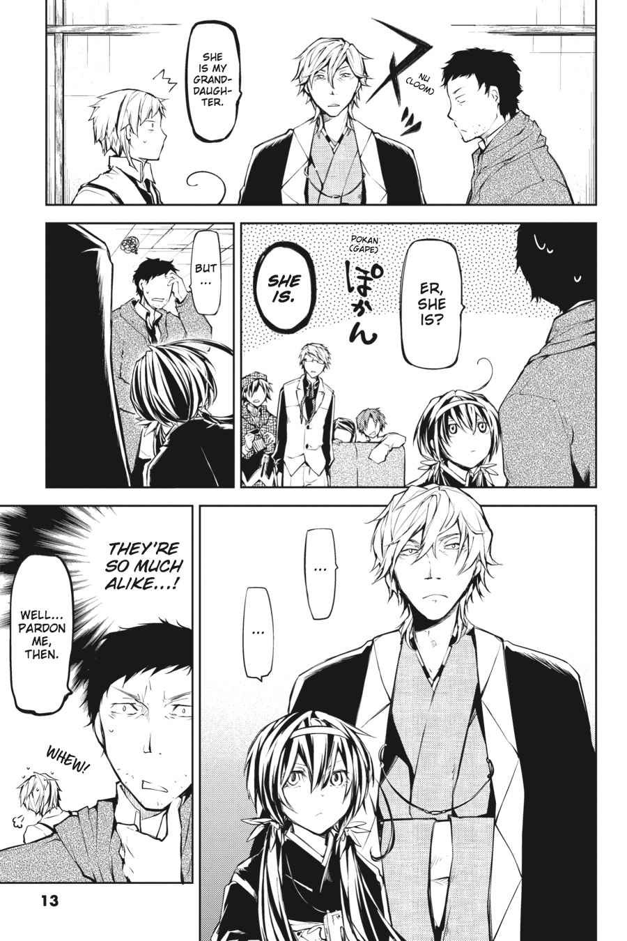 Bungou Stray Dogs Chapter 13 Page 13