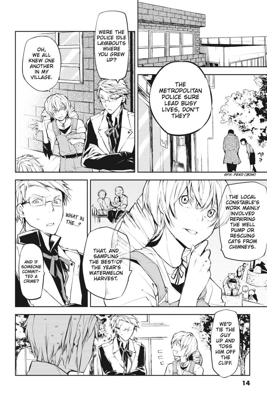 Bungou Stray Dogs Chapter 13 Page 14