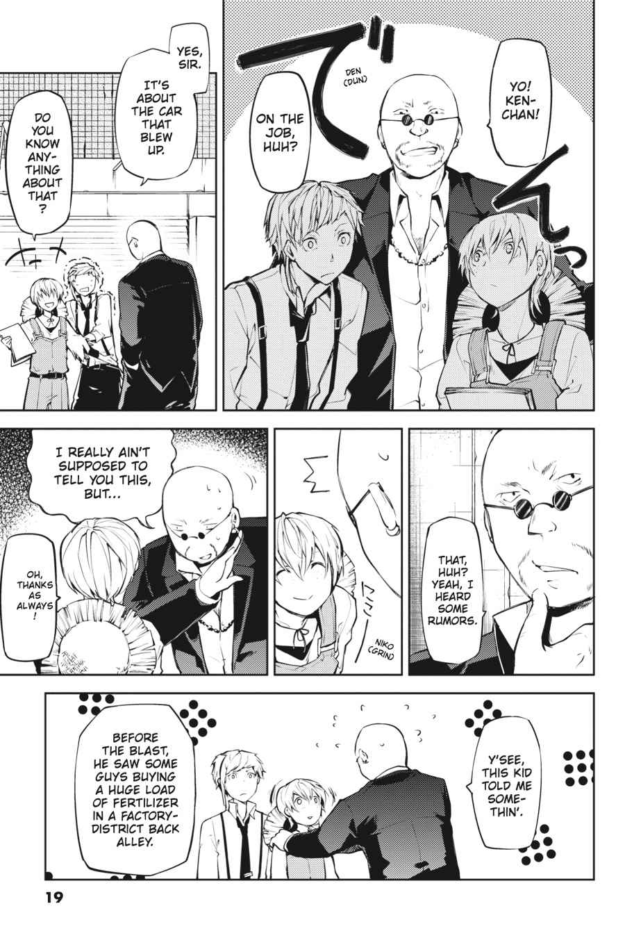 Bungou Stray Dogs Chapter 13 Page 19