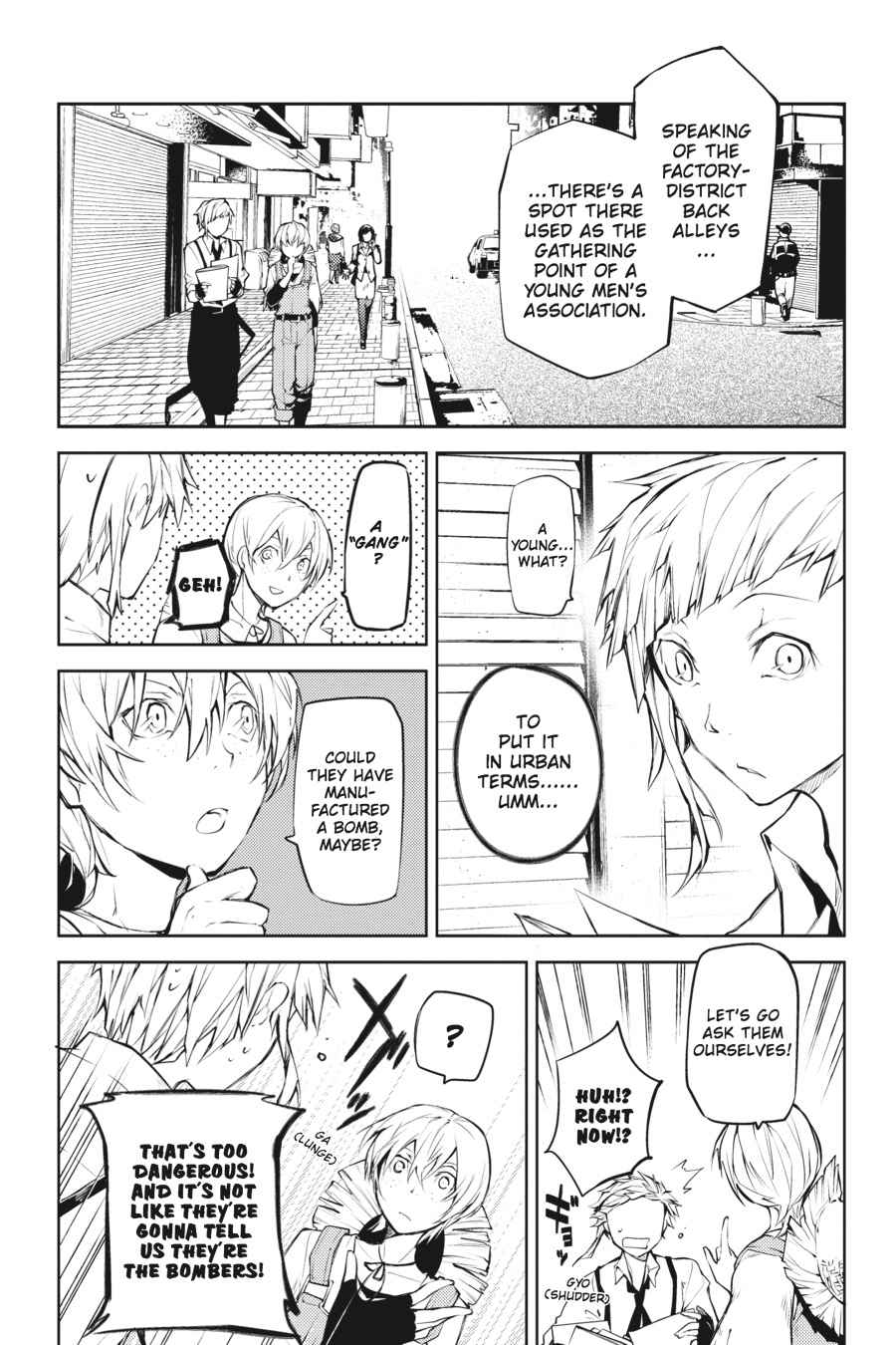 Bungou Stray Dogs Chapter 13 Page 21