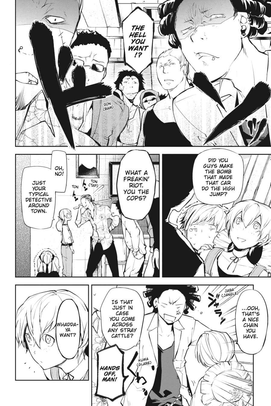 Bungou Stray Dogs Chapter 13 Page 24