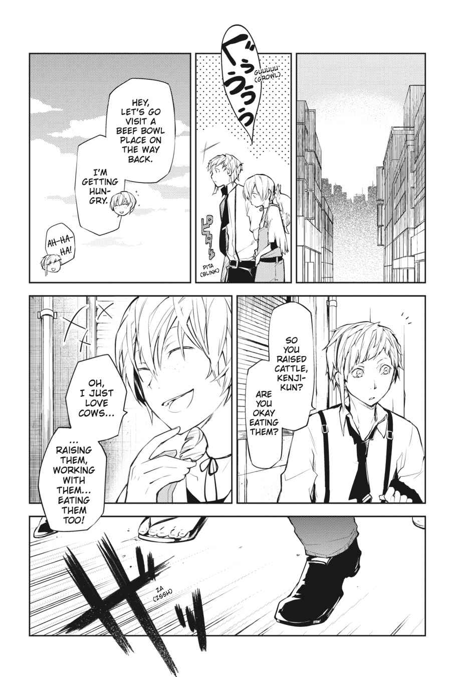 Bungou Stray Dogs Chapter 13 Page 27