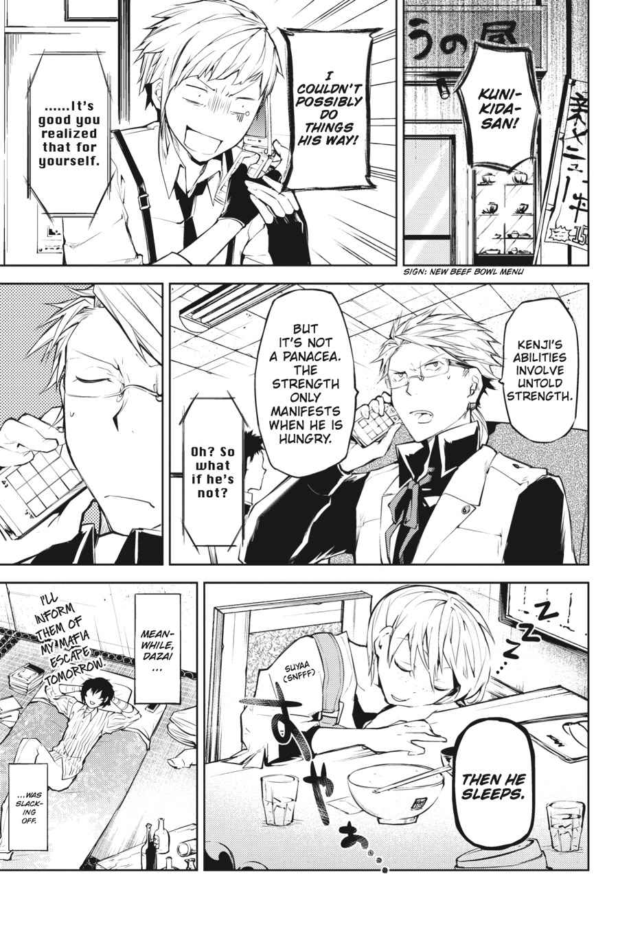 Bungou Stray Dogs Chapter 13 Page 36