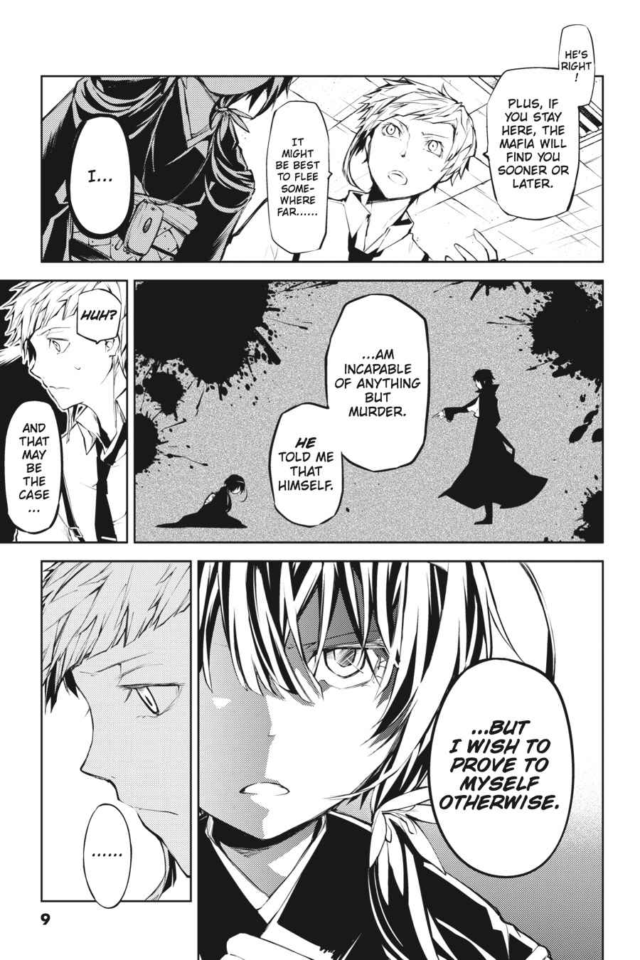 Bungou Stray Dogs Chapter 13 Page 9