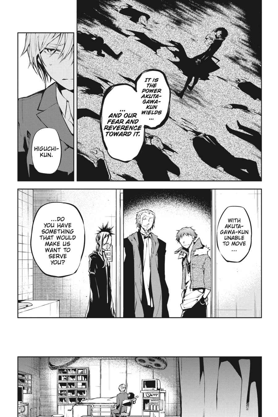 Bungou Stray Dogs Chapter 14 Page 13