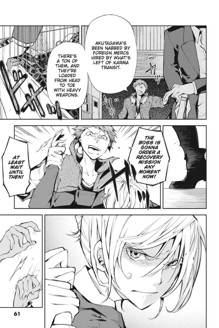 Bungou Stray Dogs Chapter 14 Page 23