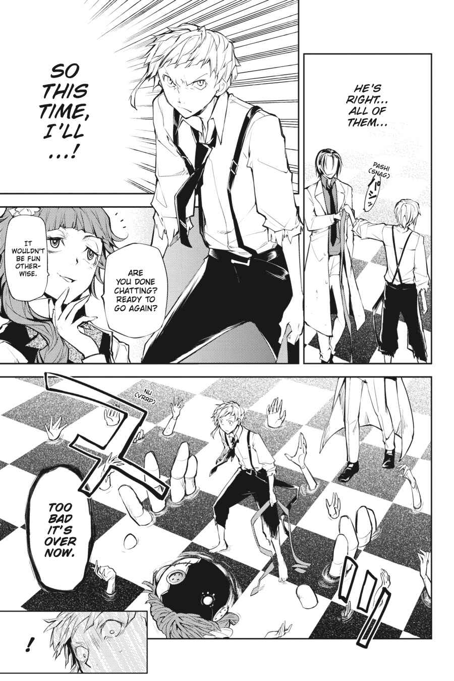 Bungou Stray Dogs Chapter 16 Page 19